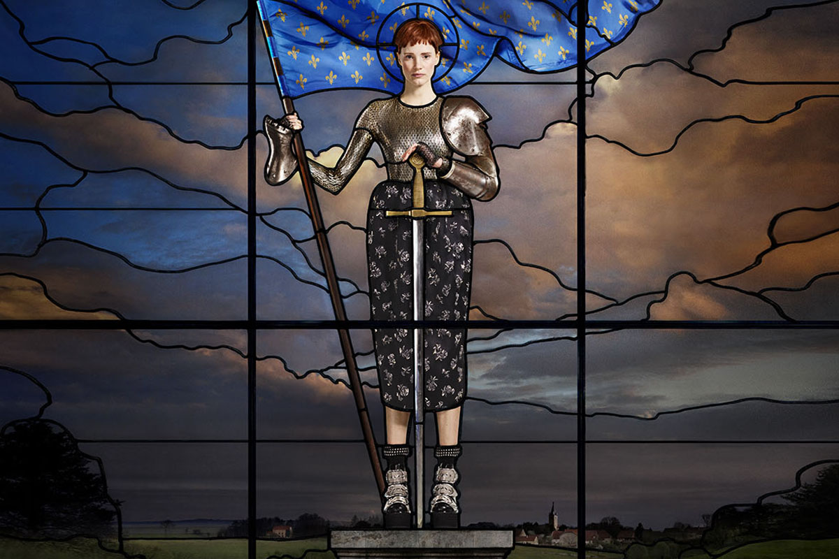 Jessica Chastain as Joan of Arc